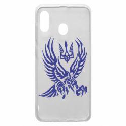 Чохол для Samsung A30 Птах та герб