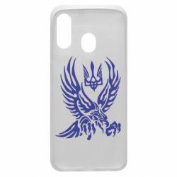Чохол для Samsung A40 Птах та герб