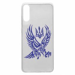 Чохол для Samsung A70 Птах та герб