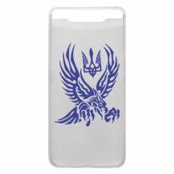 Чохол для Samsung A80 Птах та герб