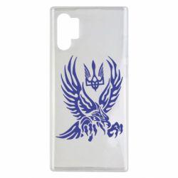 Чохол для Samsung Note 10 Plus Птах та герб