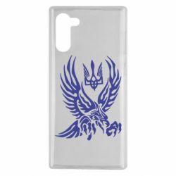 Чохол для Samsung Note 10 Птах та герб