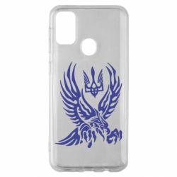 Чохол для Samsung M30s Птах та герб