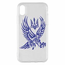 Чохол для iPhone X/Xs Птах та герб