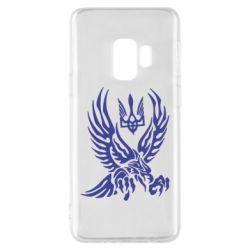 Чохол для Samsung S9 Птах та герб