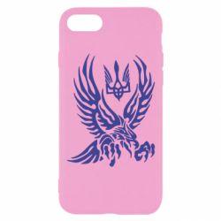 Чохол для iPhone 8 Птах та герб
