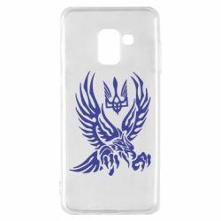 Чохол для Samsung A8 2018 Птах та герб