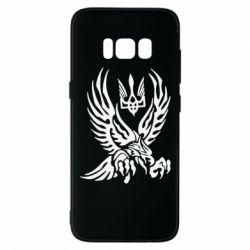 Чохол для Samsung S8 Птах та герб