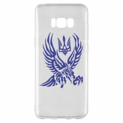 Чохол для Samsung S8+ Птах та герб