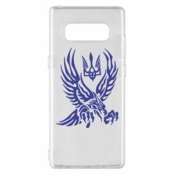 Чохол для Samsung Note 8 Птах та герб