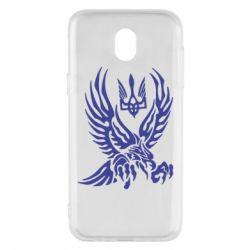 Чохол для Samsung J5 2017 Птах та герб