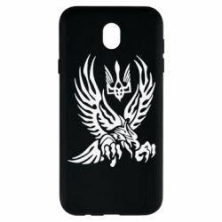 Чохол для Samsung J7 2017 Птах та герб