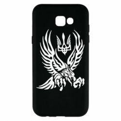 Чохол для Samsung A7 2017 Птах та герб