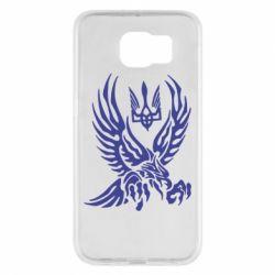 Чохол для Samsung S6 Птах та герб