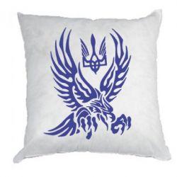 Подушка Птах та герб - FatLine