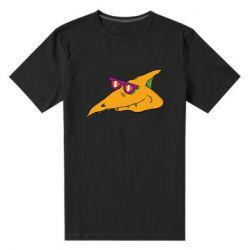 Чоловіча стрейчева футболка Pterodactyl in glasses