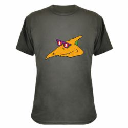 Камуфляжна футболка Pterodactyl in glasses