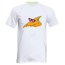 Чоловіча спортивна футболка Pterodactyl in glasses