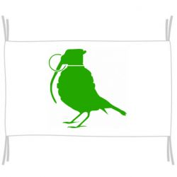 Флаг Птичка с гранатой
