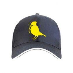 кепка Птичка с гранатой