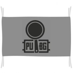 Флаг PUBG and and frying pan