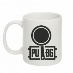 Кружка 320ml PUBG and and frying pan