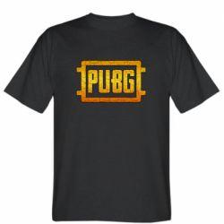 Мужская футболка PUBG and cracks