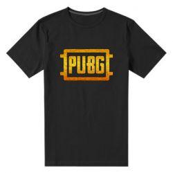 Мужская стрейчевая футболка PUBG and cracks