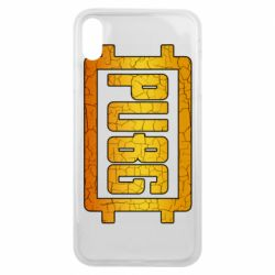 Чехол для iPhone Xs Max PUBG and cracks