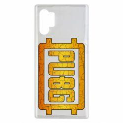 Чехол для Samsung Note 10 Plus PUBG and cracks