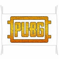 Флаг PUBG and cracks