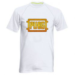 Мужская спортивная футболка PUBG and cracks