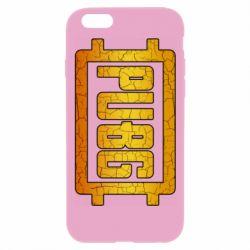 Чехол для iPhone 6 Plus/6S Plus PUBG and cracks