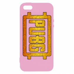 Чехол для iPhone5/5S/SE PUBG and cracks