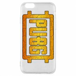 Чехол для iPhone 6/6S PUBG and cracks
