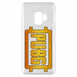 Чехол для Samsung S9 PUBG and cracks