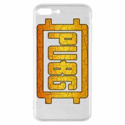Чехол для iPhone 8 Plus PUBG and cracks