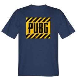 Мужская футболка PUBG and stripes
