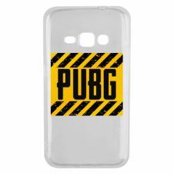 Чехол для Samsung J1 2016 PUBG and stripes