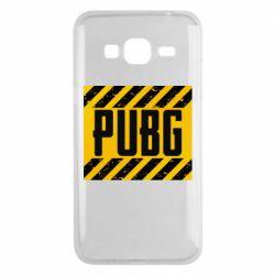 Чехол для Samsung J3 2016 PUBG and stripes