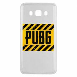 Чехол для Samsung J5 2016 PUBG and stripes