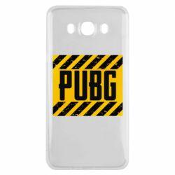 Чехол для Samsung J7 2016 PUBG and stripes