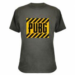 Камуфляжная футболка PUBG and stripes