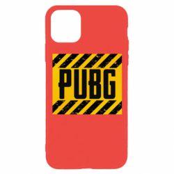 Чехол для iPhone 11 Pro PUBG and stripes