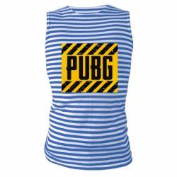 Майка-тельняшка PUBG and stripes