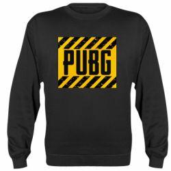 Реглан (свитшот) PUBG and stripes