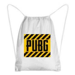 Рюкзак-мешок PUBG and stripes