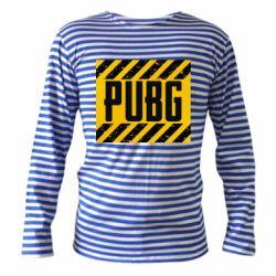Тельняшка с длинным рукавом PUBG and stripes