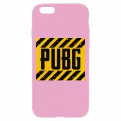 Чехол для iPhone 6 Plus/6S Plus PUBG and stripes