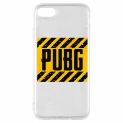 Чехол для iPhone 7 PUBG and stripes